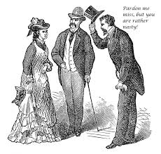 Ladies Simply Must Be Told When They Are Nasty Says Genteel.