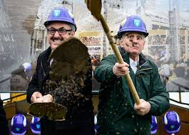 Vikings owner Zygi Wilf and Gov. Mark Dayton breaking ground for new  stadium (x-posted from r/minnesota) : photoshopbattles