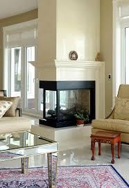 Fireplace Refacing Cost Best 10 3 Sided Fireplace Ideas On Pinterest Modern Fireplace