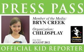 Company Seeks Magazine Reporters Kid - Kids Theater Arizona Raising