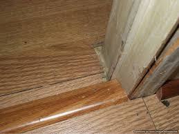 laminate flooring around door jamb