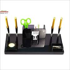 office pen holder. Office Pen Stand With Four Holder