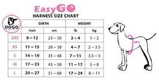 Pink Size Chart Pink And White Ruffle Harness