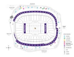 Us Bank Seating Chart Stadium Maps U S Bank Stadium
