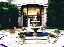 patio water fountain new outdoor garden features fountains outside solar for backyard stylish small feature ideas