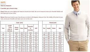 Size Chart Dress Shirt Men Image Result For Mens Shirt Size Chart Suit Measurements