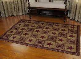primitive country bathroom rugs