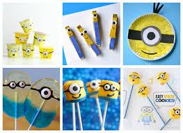 Minion Kids Crafts & Recipes