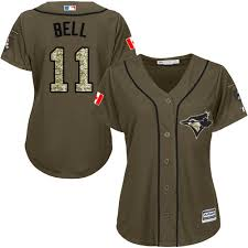 Majestic Baseball Jersey Size Chart Majestic Authentic George Bell Womens Green Mlb Jersey