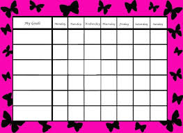 weekly reward chart printable reward chart template release picture chore pictures weekly behavior