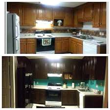 can i stain my oak kitchen cabinets stained my previous honey oak kitchen cabinets used general