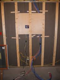 entertainment center for a large flat screen home theater wiring ideas at Entertainment Center Wiring