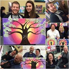 twisting up date night painttogether staytogether datenight