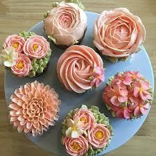 Flower Cupcakes Cakes Design