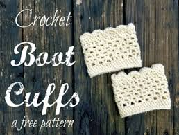 Boot Cuff Pattern Interesting 48 Wonderful Free Patterns For Crochet Boot Cuffs