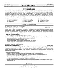 Template Outside Sales Resume Examples 2016 Free Template For