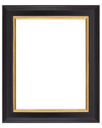 Image Custom Traditional Black Frame With Gold Lip Wholesale Frame Company Traditional Black Frame Wholesale Frame Company