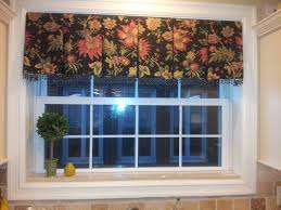 Kitchen Valances Box Pleated Kitchen Valance Window Treatments Pinterest