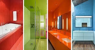15 Lively MultiColored Bathroom Designs  Home Design LoverColorful Bathroom