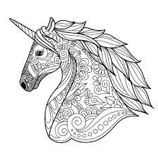 weird unicorns coloring pages free to color for children printable