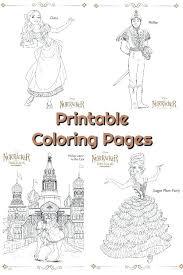 Nutcracker Coloring Pages Ballet Coloring Pages Nutcracker Ballet