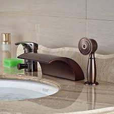 senlesen new oil rubbed bronze waterfall bathroom tub