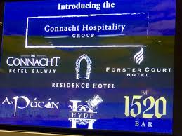 """Letitia Wade on Twitter: """"Thanks @eveannar @ConnachtHotel for the  comprehensive update 2day on Connacht Hospitality Groups amazing  @wildatlanticway tourism product in #Galway @ForsterCourtHtl  @HydeGinBar @ResidenceHotelG @anpucangalway ..."""