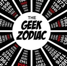 Geek Zodiac Chart The Geek Zodiac Whats Your Sign Infographic