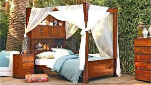 twin wood canopy bed – loveyourwebsite.co
