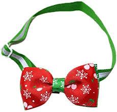 KOTiger <b>Pet Dog</b> Tie <b>Christmas</b> Adjustable <b>Bow</b> Collar Santa <b>Xmas</b> ...