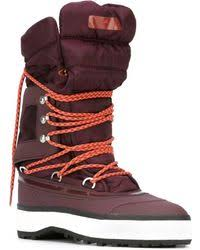Adidas by stella mccartney Winter Quilted Snow Boots in Red   Lyst & Adidas By Stella McCartney   Winter Quilted Snow Boots   Lyst Adamdwight.com