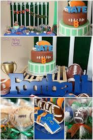 Super Bowl Party Decorating Ideas Super Bowl Party Dessert Table Decoration Ideas Football Party 97