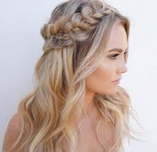 down wedding hair. Horoscope bridal looks 12 half up half down wedding hair ideas to try