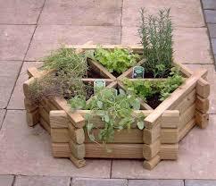 herb wheel small herb wheel garden planter wooden planters