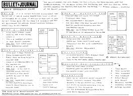 Free Bullet Journal Reference Guide Journaling Bullet Journal