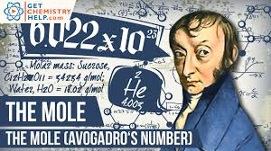 chemistry lesson the mole avogadro s number