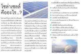 โซล่าเซลล์คืออะไร … ? – Solar City