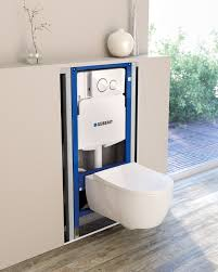 Toilet Flushing Systems And Designs In Wall Systems For Wall Hung Toilets Urinals Lavatory