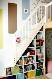 stair step bookcase books shelves stairs wallpaper colours contemporary  area of The Best Stair Step Bookcase