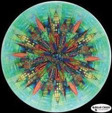 Skylines Circle Free Quilt Pattern by Hoffman Fabrics   Crafts to ... & Skylines Circle Free Quilt Pattern by Hoffman Fabrics Adamdwight.com