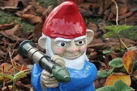 cheap garden gnomes. Garden Gnomes Go On The Offensive Cheap