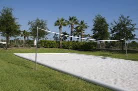 Backyard Beach Volleyball Court  Home DesignBackyard Beach Volleyball Court