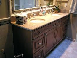 double sink countertop bathroom with sink image of inspiration double sink bathroom vanities bathroom sinks one piece 48 double sink vanity without top