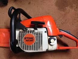 stihl chainsaw farm boss. stihl chainsaw 290 farm boss stihl s