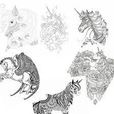 11 Free Printable Unicorn Coloring Pages For Adults Nerdy Mamma