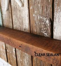 storage organization outdoor rustic floating shelf on wooden wall solid wood floating shelves