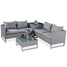 tangkula patio furniture set 4 piece
