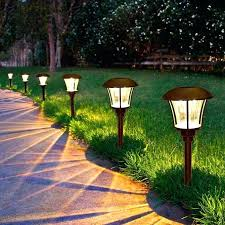 costco outdoor solar lights led solar solar pathway led outdoor solar string lights costco