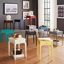 bedroom night stands. Bold Accent Single-drawer Side Table Bedroom Night Stands