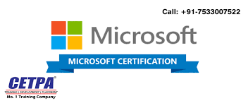 Best Microsoft Certification Program Training In Delhi Microsoft